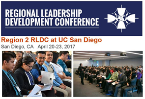 SAVE THE DATE: RLDC Region 2 – April 20th to April 23rd, 2017