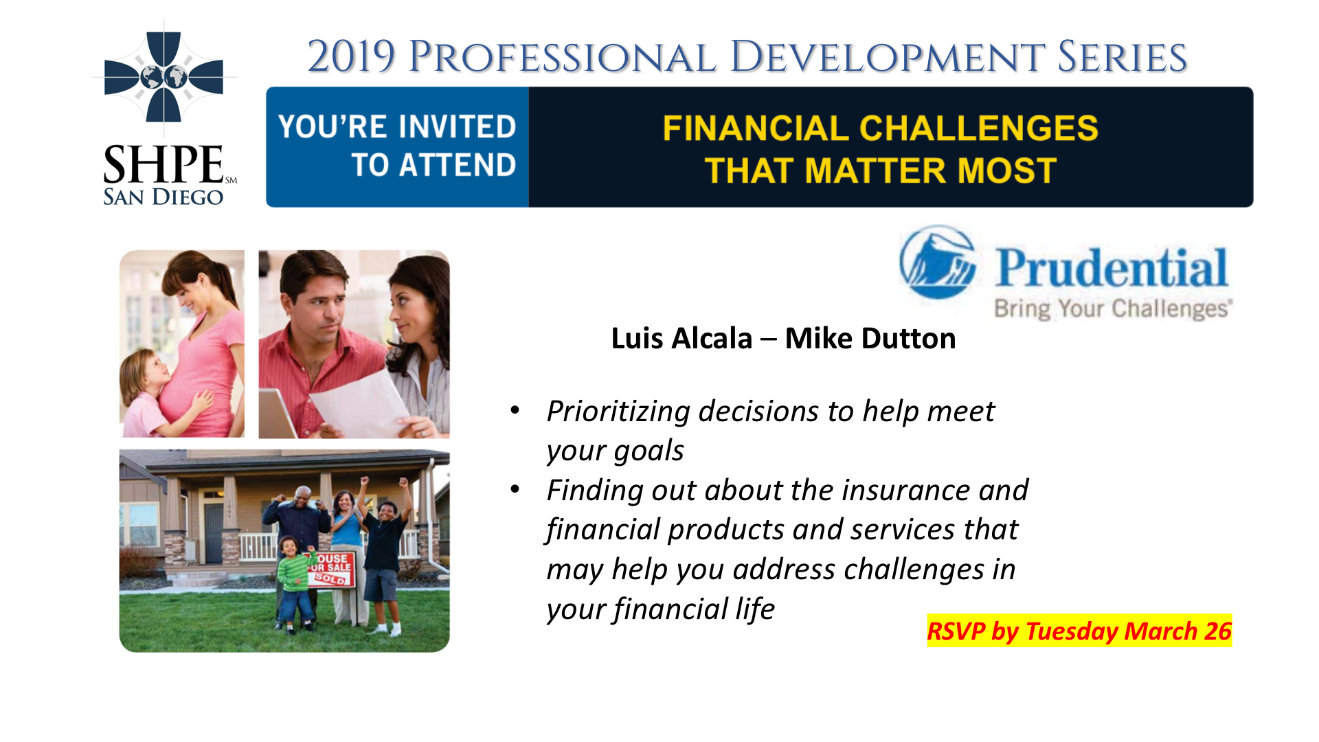 2019 Professional Series – Financial Challenges That Matter Most