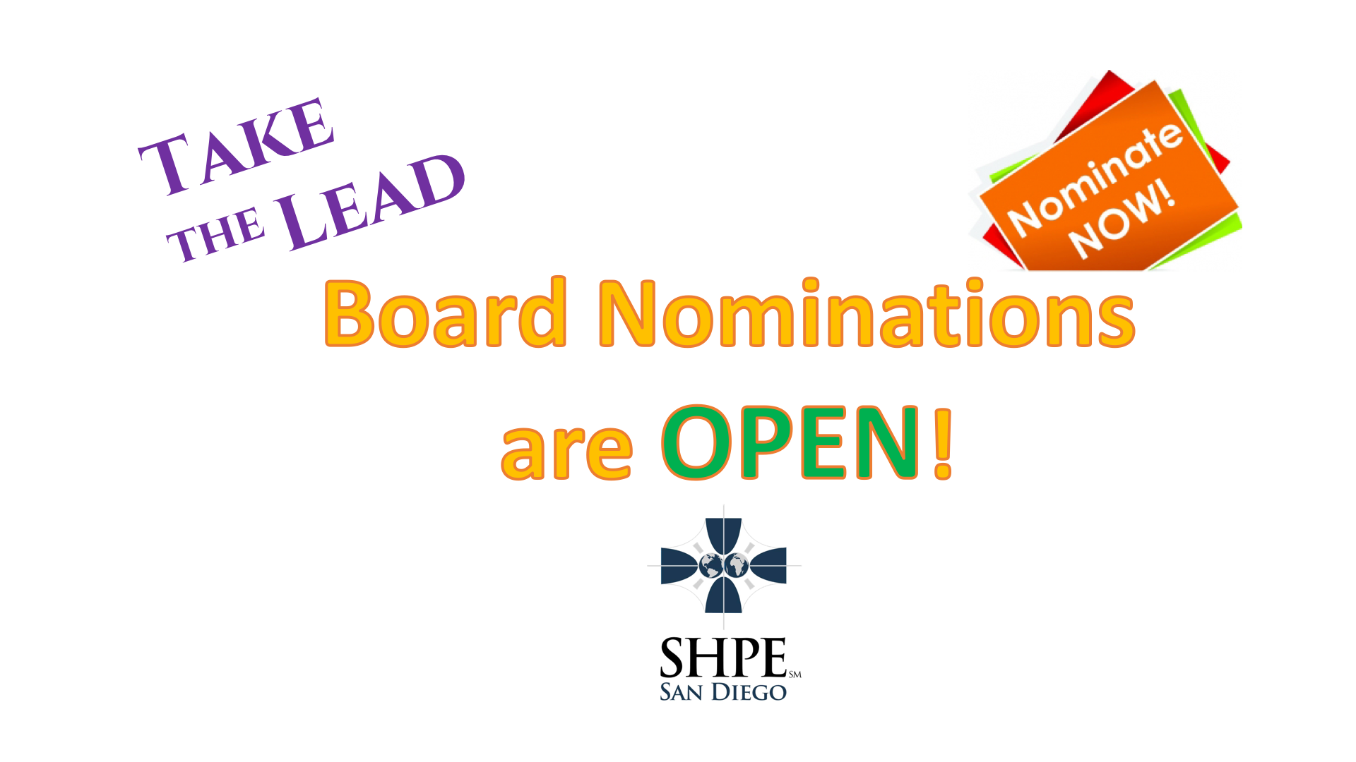 2019 SHPE San Diego Nominations