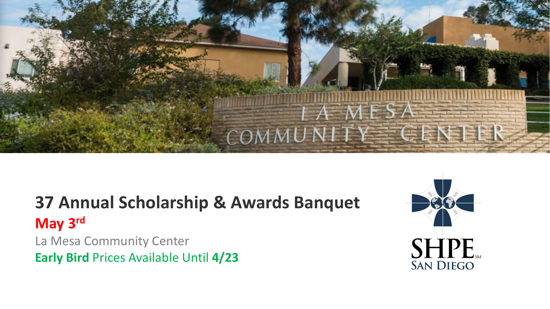 37th Annual Scholarship & Awards Banquet